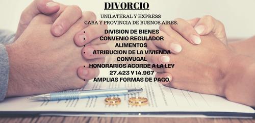 abogados. divorcio.sucesiones.despidos. suspensiones.