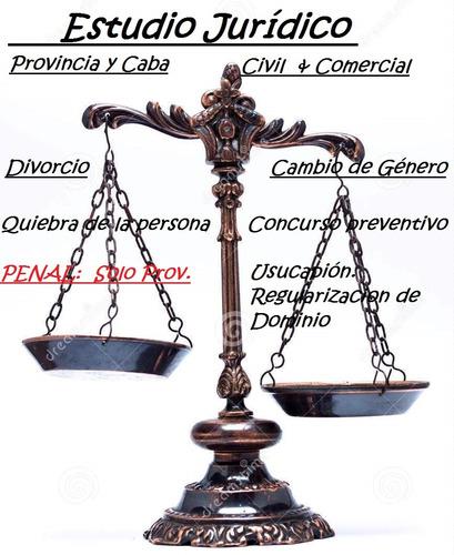abogados:divorcio,sucesion,usucapion              cap y prov