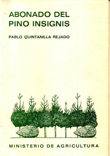 abonado del pino insignis - ministerio de agricultura