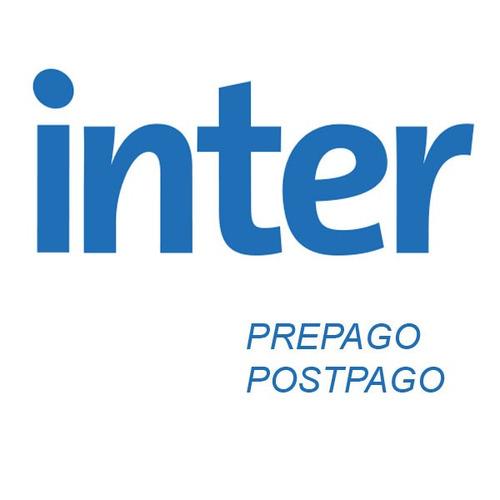 abono de bs. 1000 a tu plan inter televisión (intercable)