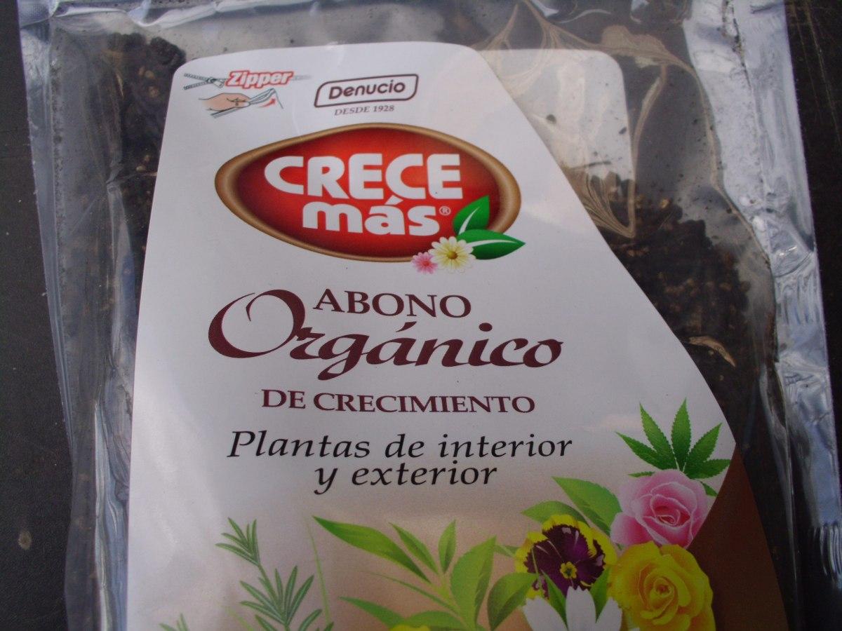 Abono org nico de crecimiento para plantas y o huerta - Abono organico para plantas ...