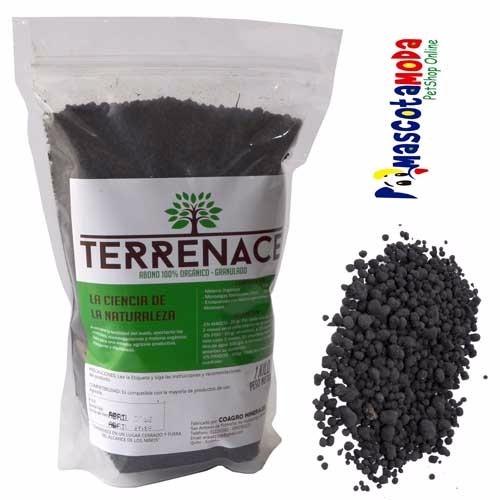 abono orgnico granulado para jardinera terrenace 1kg - Abono Organico