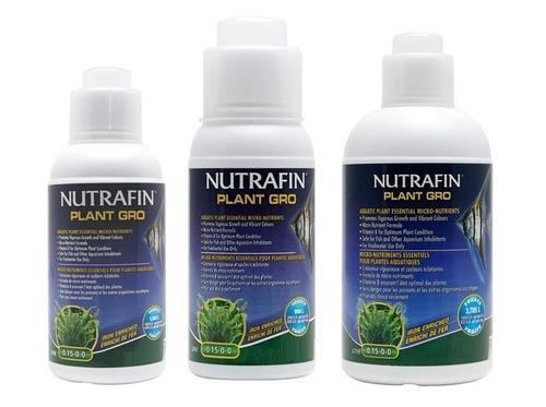 abono para plantas de acuario nutrafin plant gro 500ml