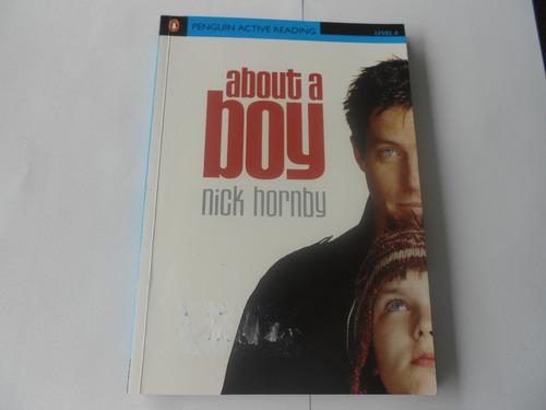 about a boy -  livro - penguin reading level 4