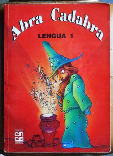 abra cadabra lengua 1 / ed. cincel 1994