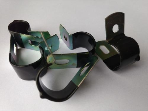 abraçadeira 15mm emborrachada trator john deere kit 10 peças