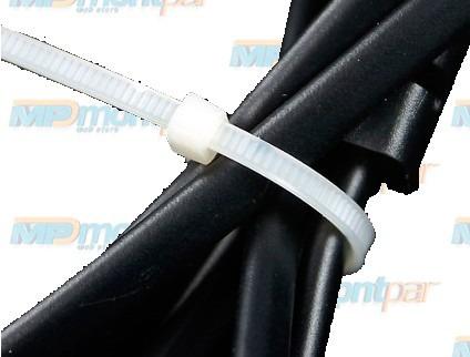 abraçadeira de nylon 7,6 x 50 cms branca - 100 unidades