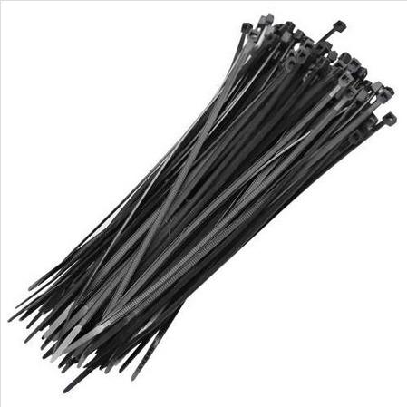 abraçadeira em nylon preta 2,5 x 150mm com 100 unidades