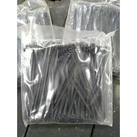 Abraçadeira Nylon Preta 100mm 2,5mm (pacote C/ 200 Unid)