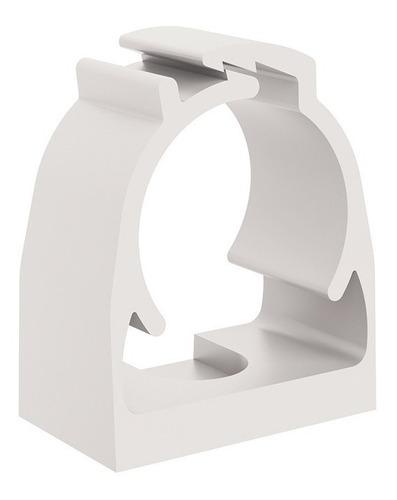 abraçadeira p/tubo eletroduto de pvc click 3/4 br kit 100pçs