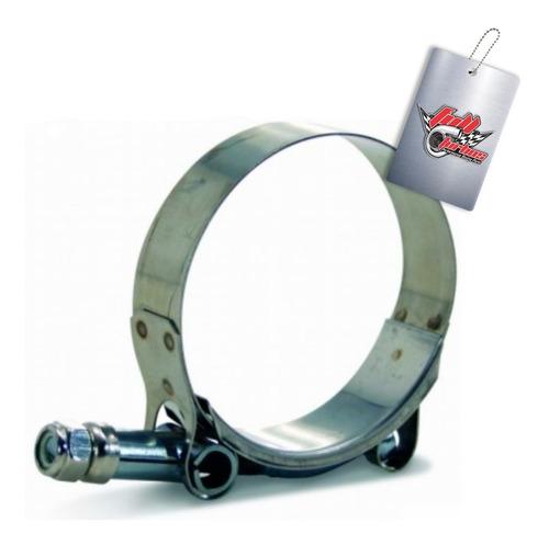 abraçadeira tucho 100% inox t-clamp 68mm - 76mm 2-1/2''