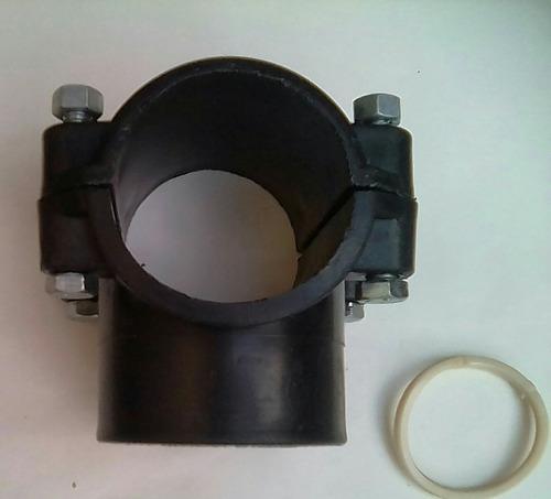 abrazadera pp para manguera de 50 mm