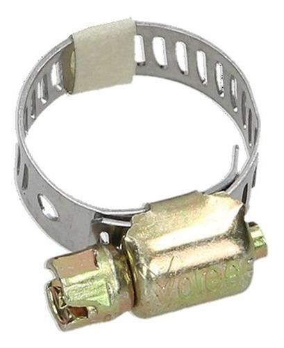 abrazadera sin fin ld-08 (1/2) (13 a 24 mm) dorada 50 piezas