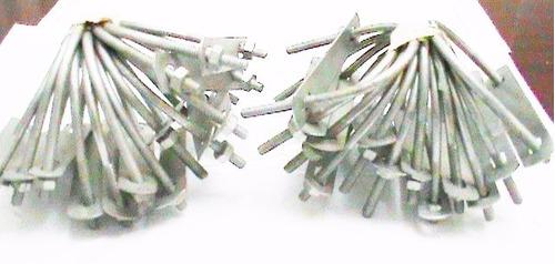 abrazadera tipo  u  de ( 2  x 1/4 ) pulgadas