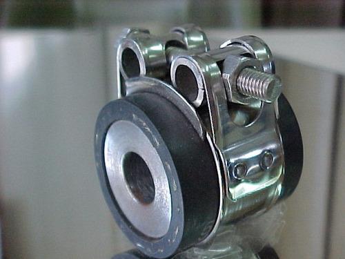 abrazaderas de súper presión 100% inox. aisi 304 ,38 a 44 mm