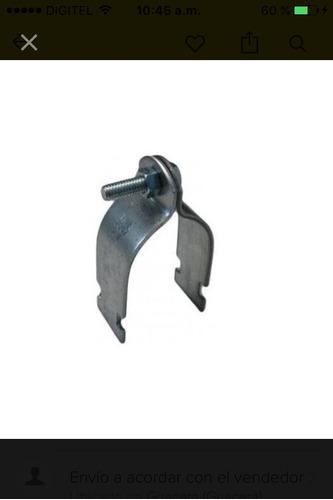 abrazaderas morochas 1/2 pulgad para tubería de electricidad