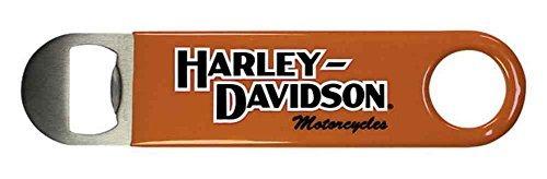 abrebotellas harley-davidson, h-d escritura de acero inoxid