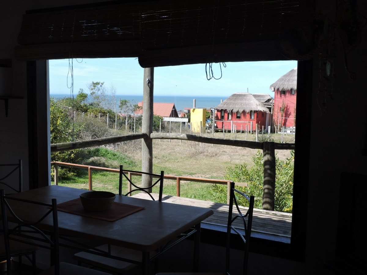 abrelatas cabaña a 130 mts del mar frente a playa el rivero