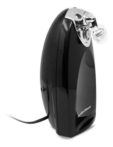 abrelatas eléctrico con afilidador de cuchillos negro hamilton beach 76380z
