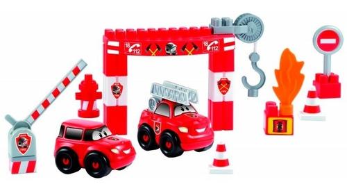 abrick 9021 estacion de bomberos auto autobomba antex cadia