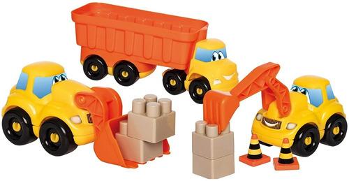 abrick 9031 set construccion camion pala excavadora antex