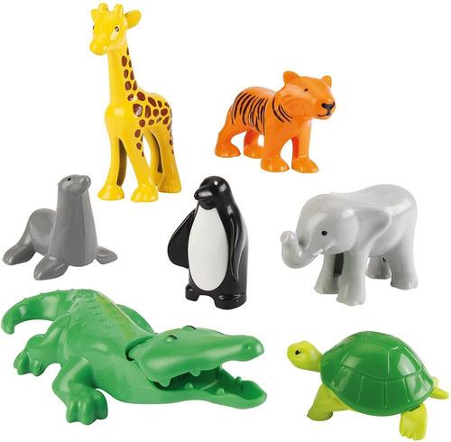 abrick 9038 animales de la selva o zoo bloques antex cadia