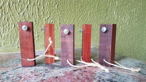 abridor de garrafa de madeira maciça rústico kit com 10 unid