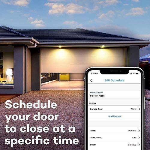 abridor de puerta de garaje inteligente myq chamberlain myq-