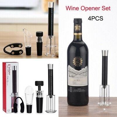 abridor de vinho e garrafa automatico por pressao saca rolha