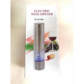 Abridor De Vinho Elétrico Recarregáveis Wlk 001 Inox