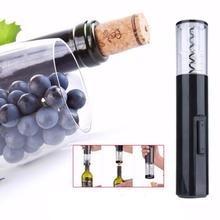 abridor de vinho saca-rolhas elétrico automático pilha