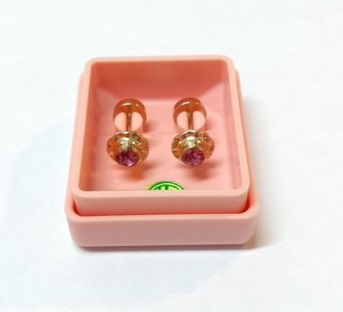 abridores 360 ch perno oro strass grande violeta j. esponda