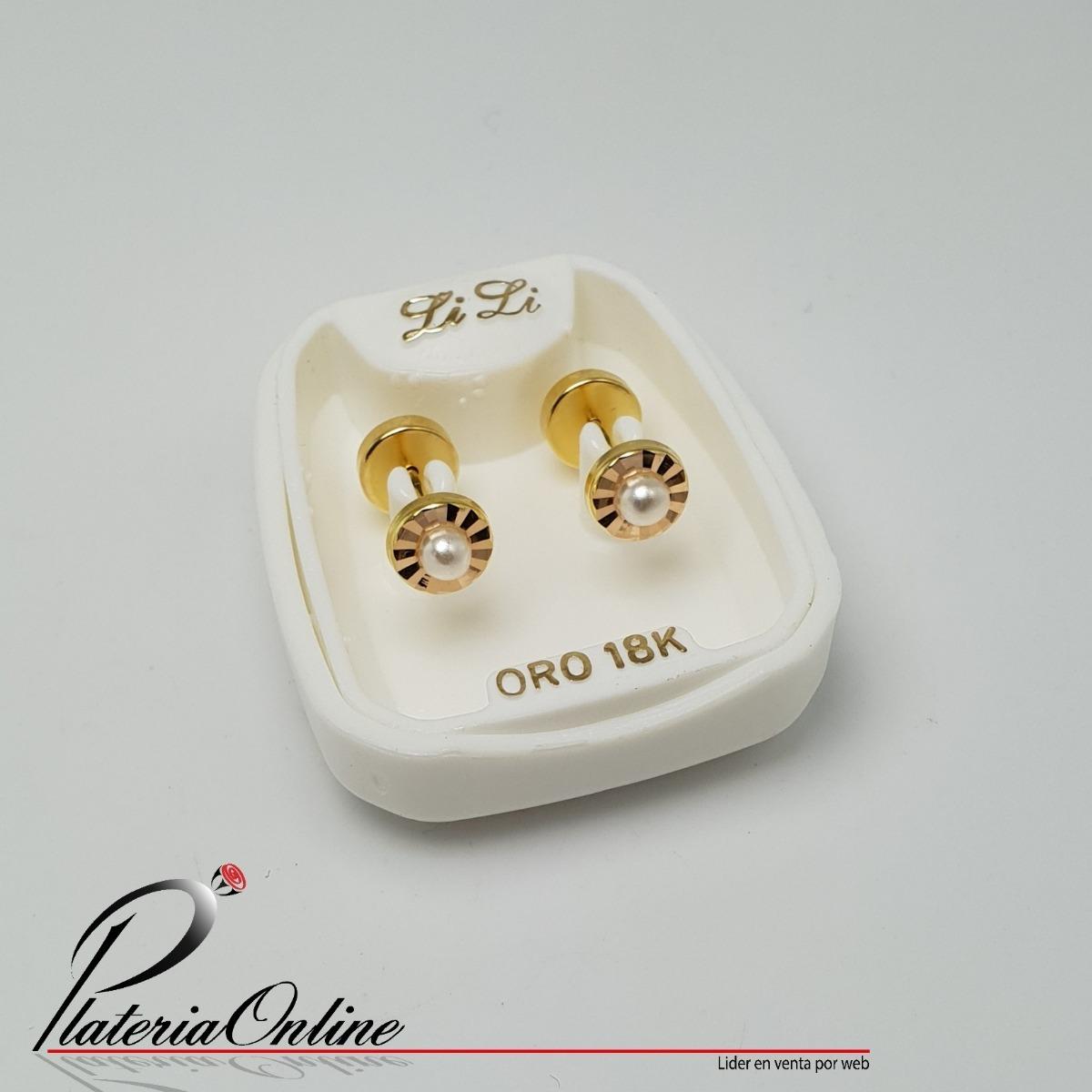 538ef9b12d31 abridores de oro 18k facetados con perla. Cargando zoom.