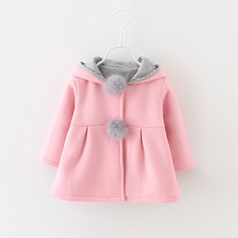 abrigo bebe niña conejito japones bonito moda temporada. Cargando zoom. c8481c8c261