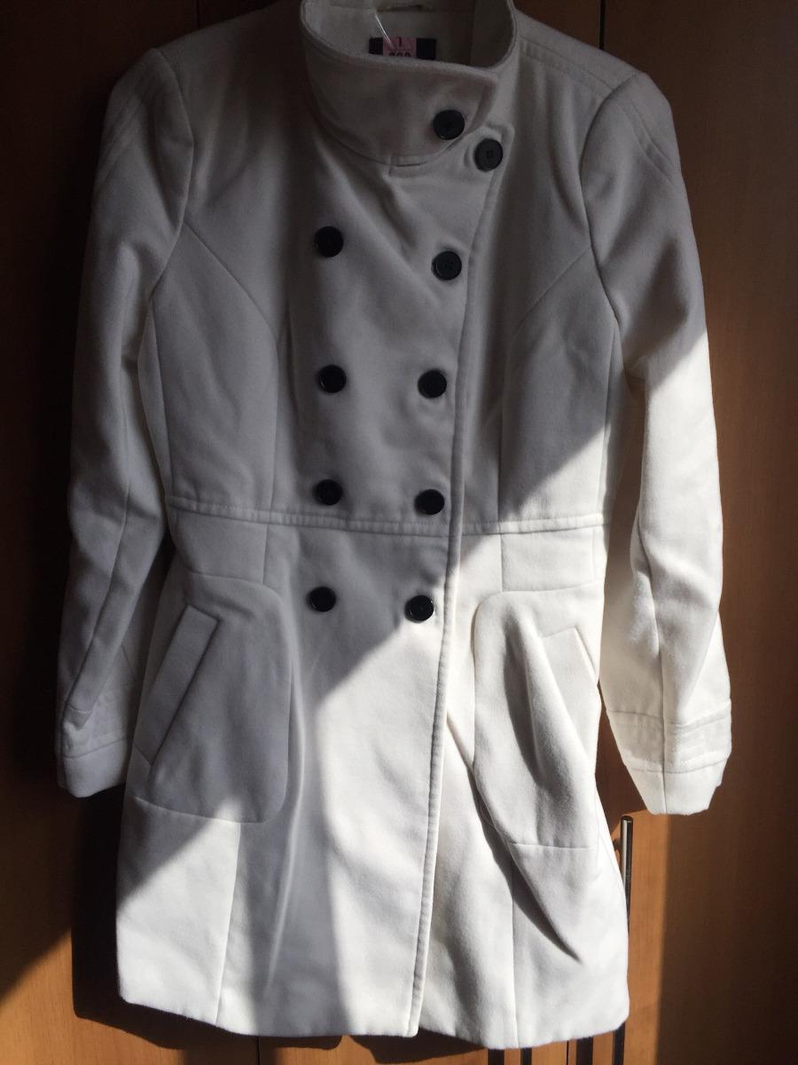 Blanco Largo Abrigo Largo Abrigo Blanco Blanco Zara Zara Abrigo ID9EH2
