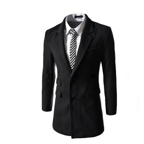 abrigo caballero varios colores slim fit entallado elegante