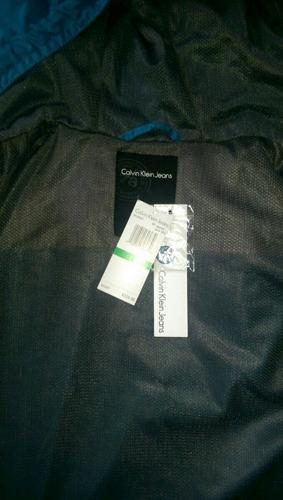 abrigo calvin klein 100% original