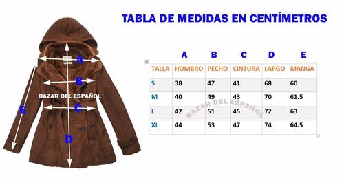 abrigo chamarra hoodie de mujer marca roosevelt
