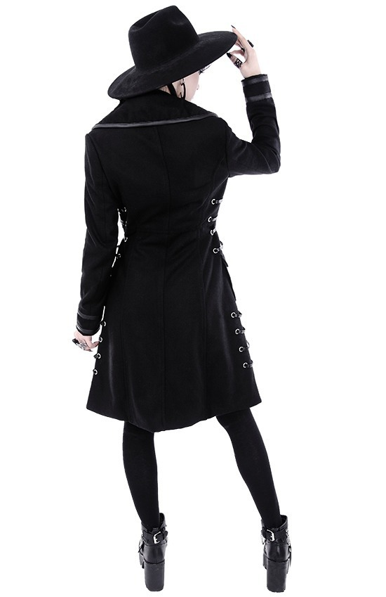 Gotico Mujer Killstar Chamarra Rockero Restyle Abrigo Rst050 qxPZRwtp