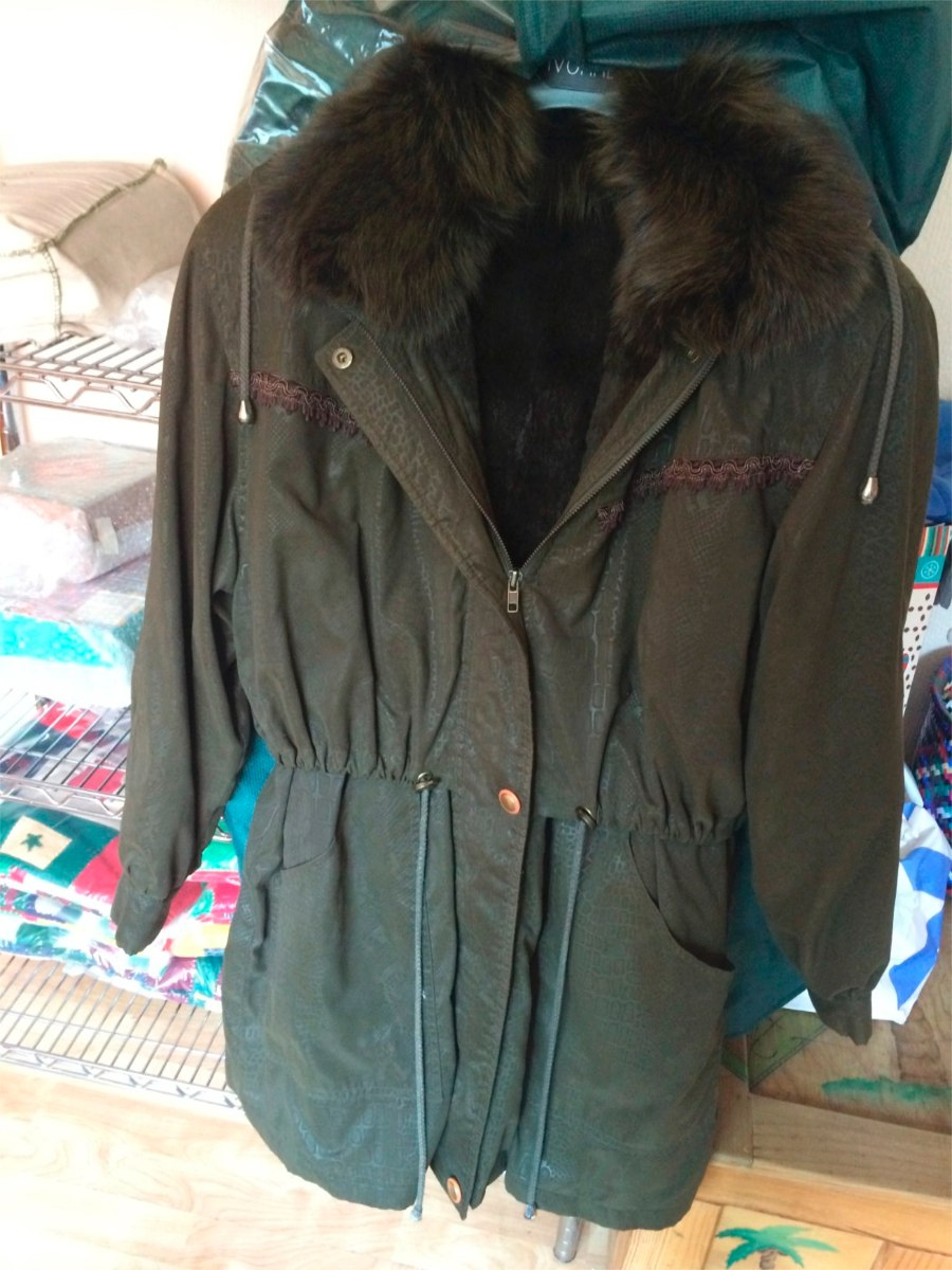 Piel usada en abrigos