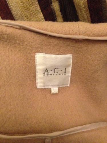 abrigo chaqueta  marca a.c.i. talla l