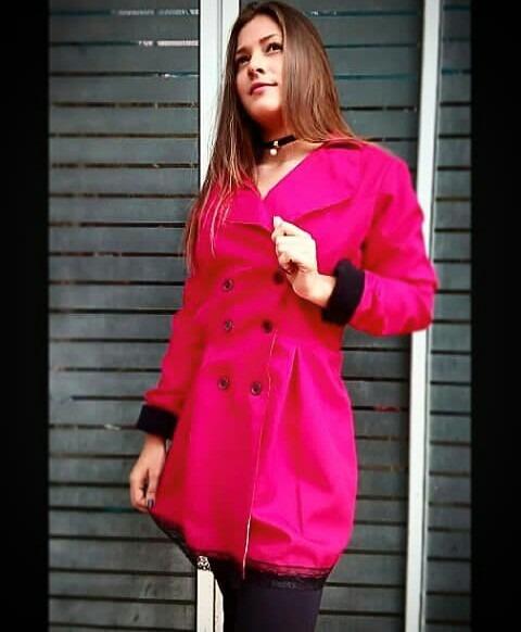 Pantalon abrigo dama