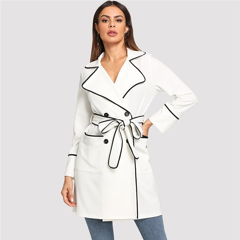 Abrigo blanco invierno