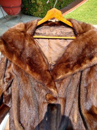 abrigo de auténtico mink!