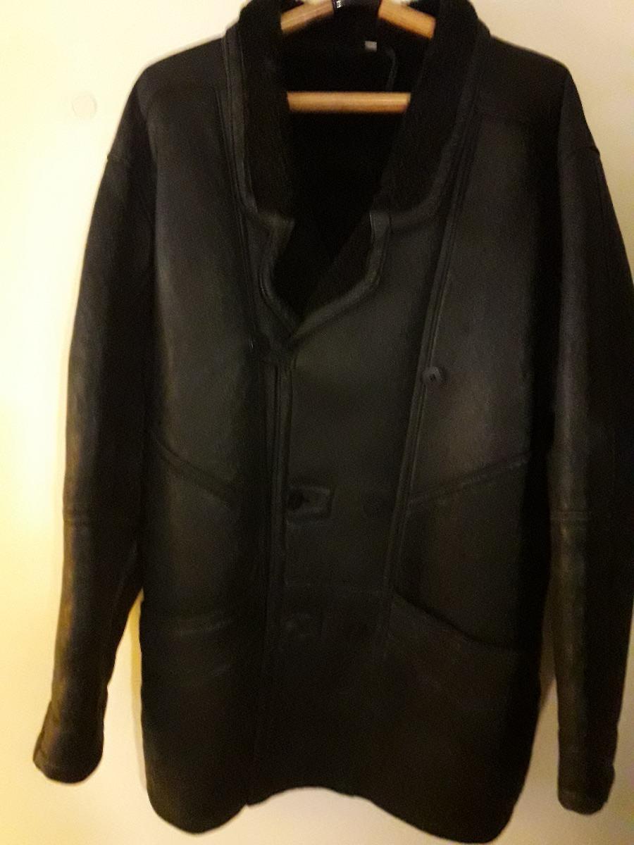 3e1e144a75c abrigo de cuero forrado en piel. Cargando zoom.