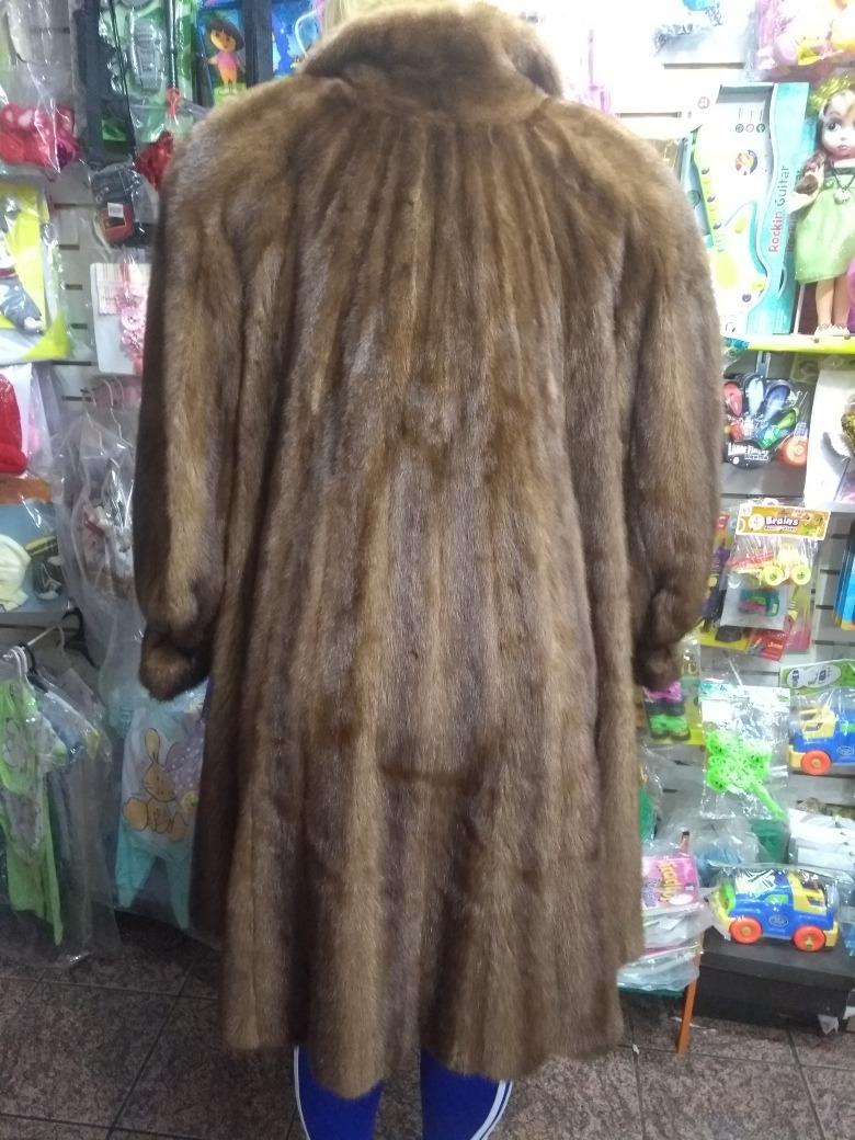 Abrigo de mink largo