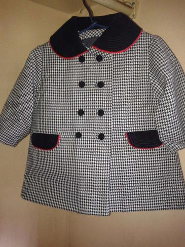 abrigo de niñita talla 1
