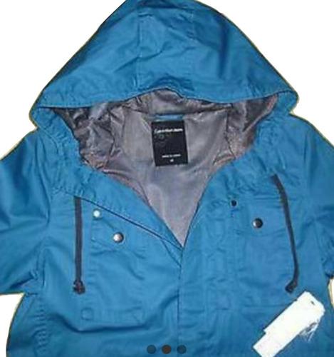 abrigo / field jacket.        calvin klein 100% original