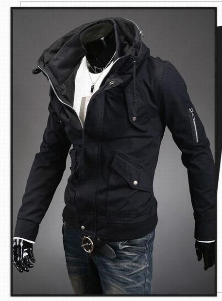 Chamarra tipo abrigo hombre