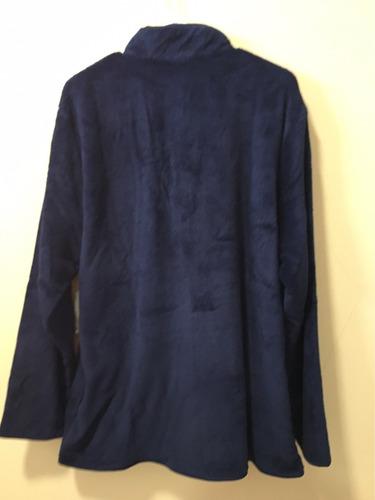 abrigo hombre de donald azul oscuro talla xl original disney